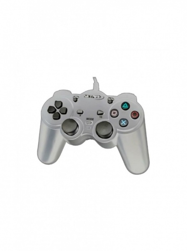 Gamepad PS2 Silver NM-2004S (5767)