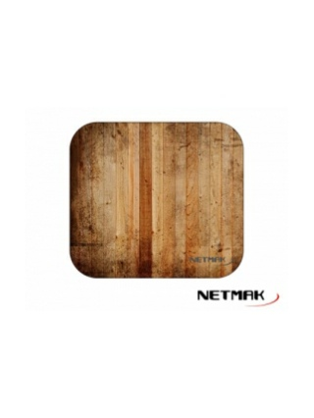 Mouse PAD Liso Madera NM-M1225 (5763)