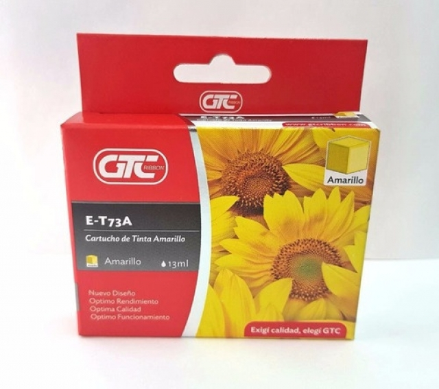 CARTUCHO EPSON T73 YELLOW 6TA GTC (6082)