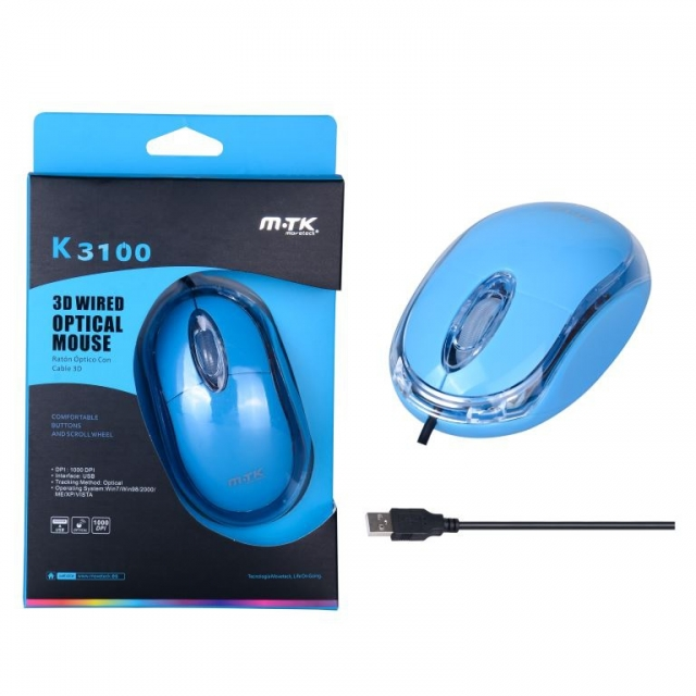 MOUSE OPTICO M-TK K3100 (6379)