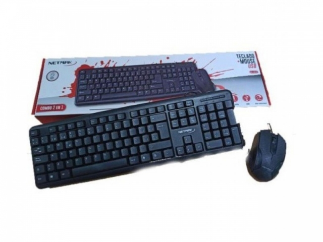 Combo Teclado + Mouse USB 2.0 NM-KB325 ( 6402)