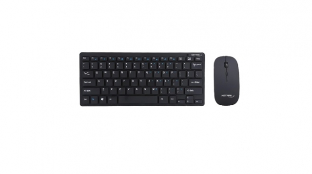 Combo Inalámbrico Ultra Slim Black  NM-KB570B ( 6403)