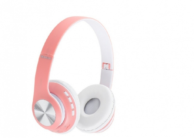 AURICULAR WIRELESS 66BT ROSADO (6418)