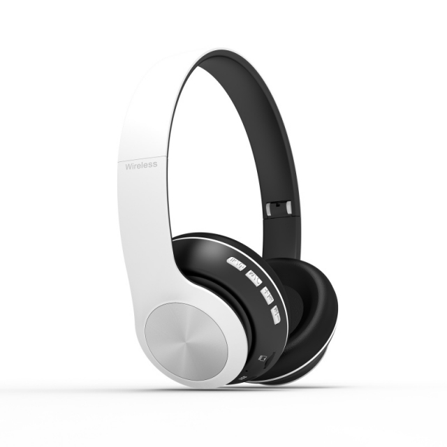AURICULAR WIRELESS 66BT BLANCO (6415)