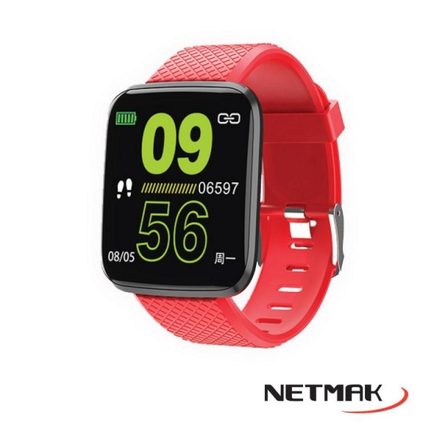 RELOJ SMART NM-BAND-R (6485)