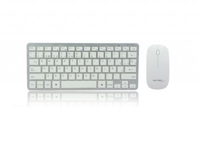 Teclado y mouse Ultra Slim MN-KB570W (3648)