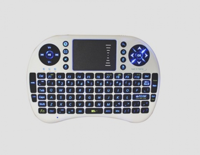 Mini teclado inalámbrico NM-KB980RT  (4276)