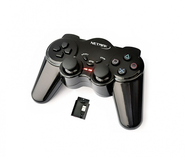 Gamepad Inalámbrico PC,PS2,PS3 NM-507 (4962)